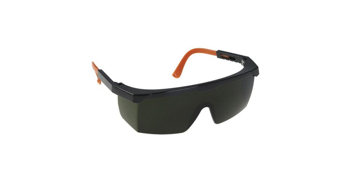hegesztő szemüveg egy látásmaszkon