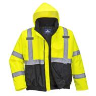 S363 HiVis Value Bomber kabát