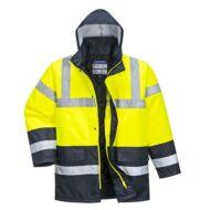 S466Y/B-Y/G-Y/GR-Y/RB Kontraszt Traffic kabát VEGYES SZÍNBEN