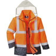 S471 Jól láthatósági 4 az 1-ben Contrast Traffic kabát