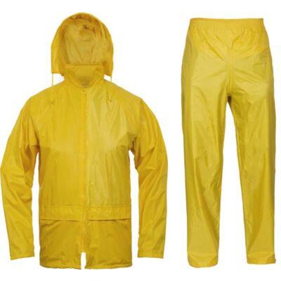 CARINA két részes esőruha sárga