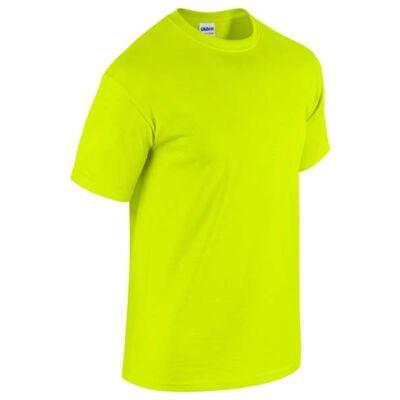 GILDAN Safety Green - neon zöld póló