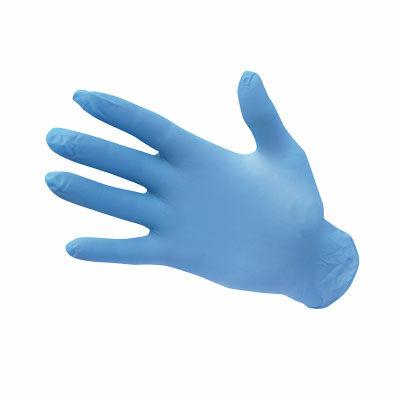 A925BLU Egyszerhasználatos nitril kesztyű, púdermentes kék (100 db)
