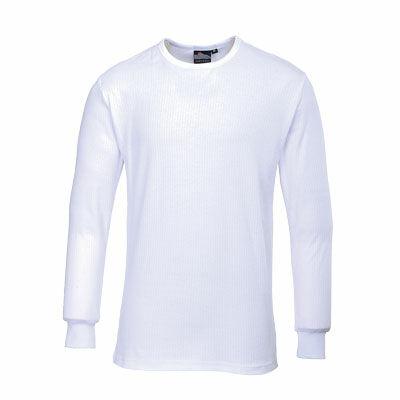 B123S-5XL Hosszú ujjú póló fehér