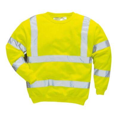 B303 Jól láthatósági pulóver