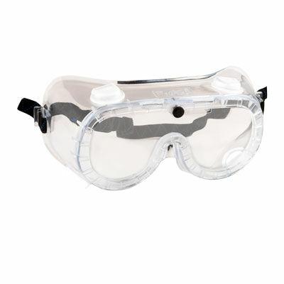 PW21CLR Gumipántos (indirekt) védőszemüveg