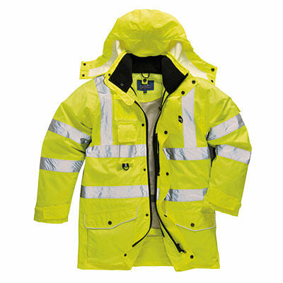 S427 Jól láthatósági 7 az 1-ben kabát