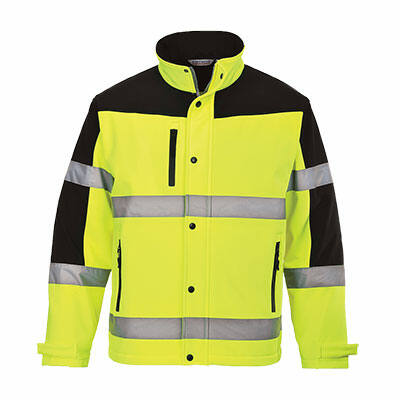 S429 Kéttónusú Softshell kabát