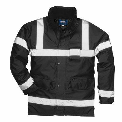 S433 Iona Lite kabát FEKETE
