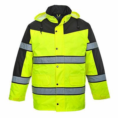 S462 Classic kéttónusú kabát