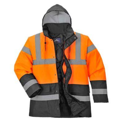 S467O/B-O/GR Kéttónusú Traffic kabát VEGYES SZÍNEK