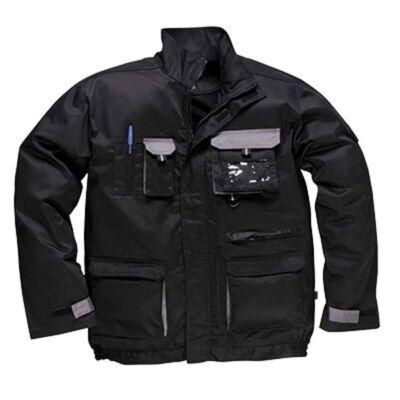 TX10 Texo kétszínű kabát FEKETE