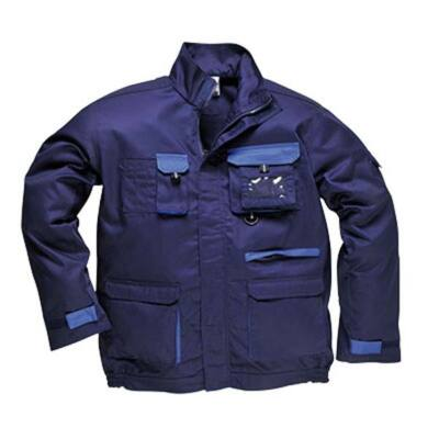 TX10 Texo kétszínű kabát KÉK