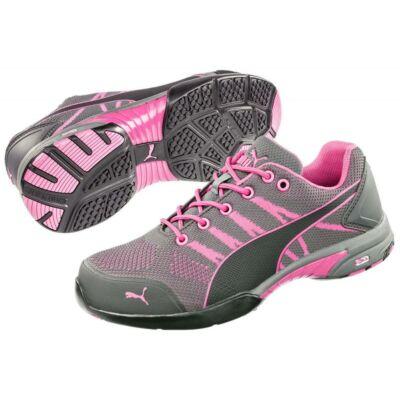 642910 Puma Celerity Knit Pink Wns S1 HRO SRC női védőcipő