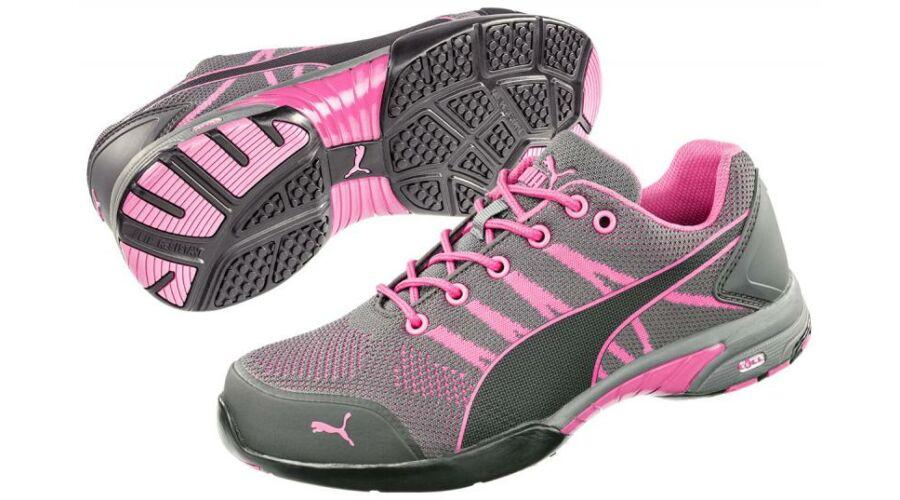 f1bff11d70 642910 Puma Celerity Knit Pink Wns S1 HRO SRC női védőcipő Katt rá a  felnagyításhoz