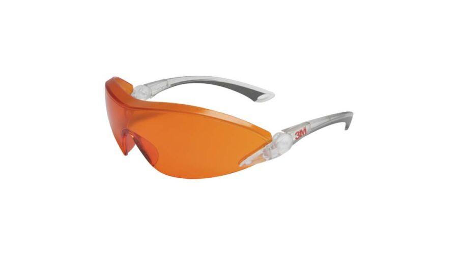3M 2846 VÉDŐSZEMÜVEG NARANCS LENCSE - Sárga lencsés szemüvegek fcbcf1b357