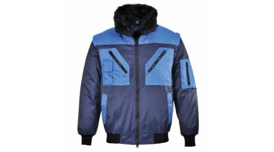 PJ20 Kéttónusú Pilóta Dzseki - Téli bélelt kabátok c516a54cca