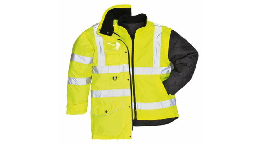 S427 Jól láthatósági 7 az 1-ben kabát - Télikabátok 9d354a8867