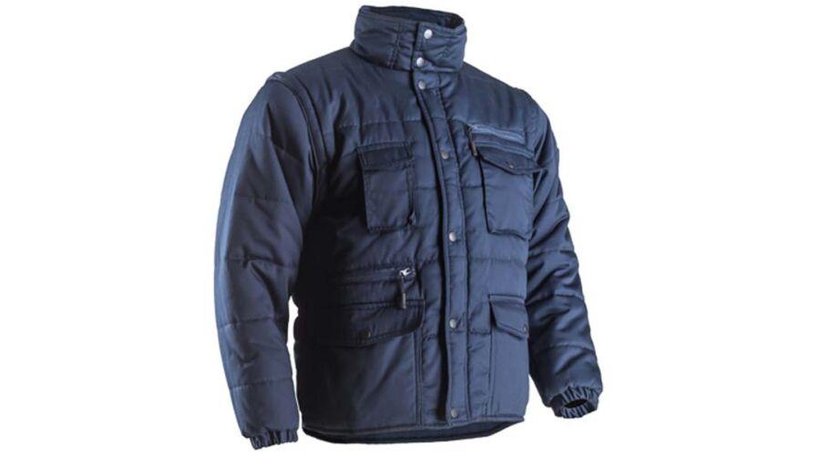 5f06fe816c POLENA-SLEEVE KÉK KABÁT - Átmeneti kabátok