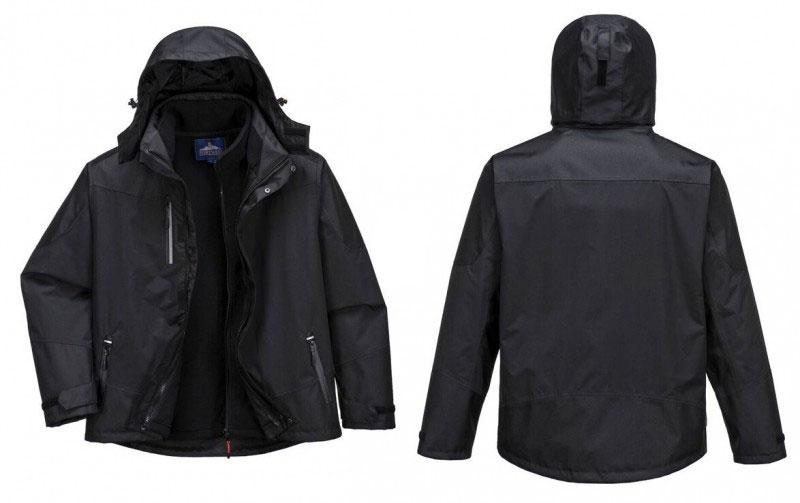 S553 Radial 3 az 1 ben kabát fekete,XXL Legjobb Munkar